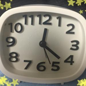 【ダイソー】シンプルでオシャレな目覚まし時計