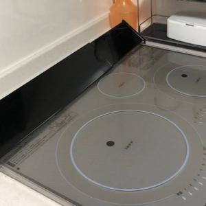 IHの排気口掃除とカバー