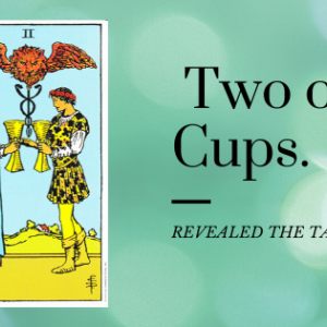 【タロット】カップ2のカード★意味と解釈法