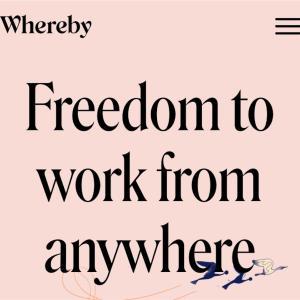 Web会議システム『Whereby』