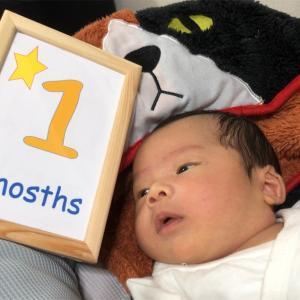 1か月BDと1か月母ちゃん