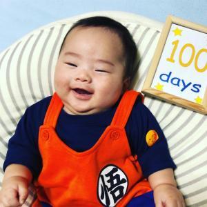 生後100日と首すわり