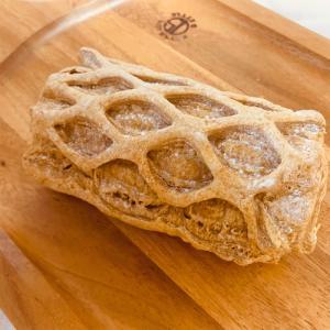 ファミリーマート: 冷やしてりんごカスタードパイ(キャラメル風味)