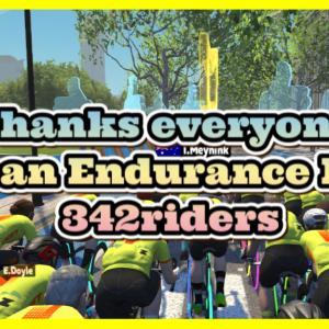 342名のBig Group Ride !!