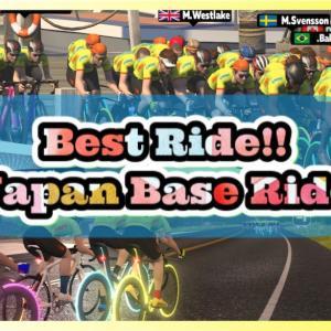 金曜Base Ride 、やっぱりいいね⤴️