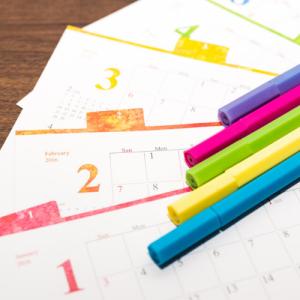 スケジュール管理は大切。予定を逆算して短期間で遺品整理を終わらせる