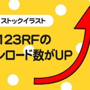 地味に123RFが伸びてきています(´・Д・)」
