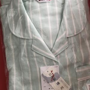播州織のパジャマ