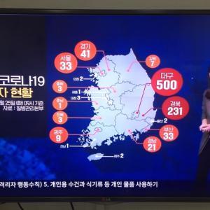 【韓国★釜山】新型コロナ19状況について