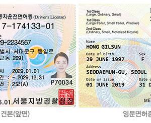 韓国の英文運転免許証とは?