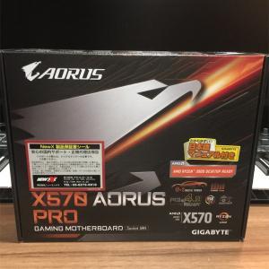 Gigabyte X570 Aorus Proが届く