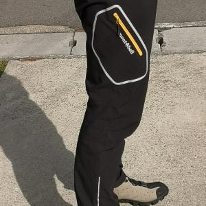 自転車用パンツ モンベルサイクルトレーナーパンツ・ニッカのレビュー