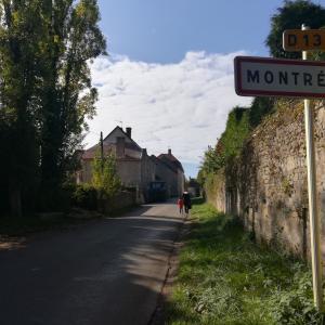ブルゴーニュ地方の小さな村モントレアル