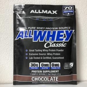 期待以上!?チョコも意外と悪くないかもと思えてきた!ALLMAX ALLWHEY Classic CHOCOLATE