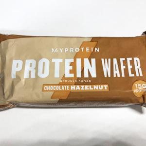 【マイプロテイン】プロテイン ウエハース チョコレートヘーゼルナッツ
