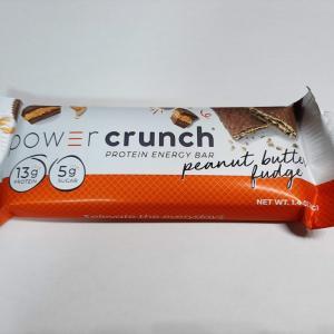 【BNRG】パワークランチ プロテインバー ピーナッツバターファッジ味