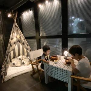 【ティピーテント作り方】子供が喜ぶ癒し空間作り