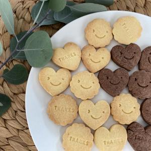 型抜きクッキーを可愛く簡単アレンジ【100均アイテムでお菓子作り】