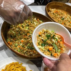 チャットパット(ネパールの前菜サラダ)