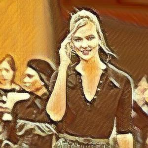Karlie KlossがついにProject Runway Kushner Zingerに対応