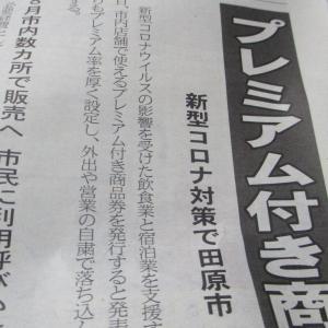 新型コロナウイルス関連 田原市 プレミアム付き商品券 8月販売