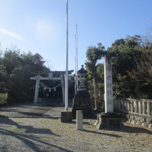 田原市村松町 女體神社