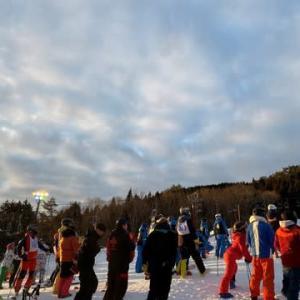 兵庫県スキー技術選手権大会!