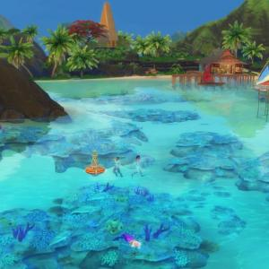 ジジイ人魚を気に入ってる 【Island Living】