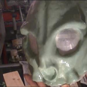 大型ネコ科のスカルマスクを作ってみよう【04】