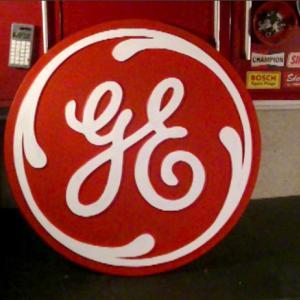 大きめのGEの看板を作る #03 General Electric