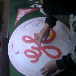 大きめのGEの看板を作る #02 General Electric