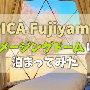 【Go To トラベル】PICA Fujiyamaでグランピングを体験してみた!【キャンプ初心者の私が徹底レビュー】