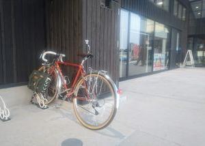 初サイクリング、「道の駅 なないろ・ななえ」へ行ってきた