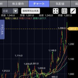 株式投資ブログ2月13日