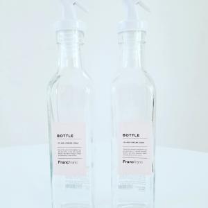 ホワイトなFrancfrancのオイルボトル