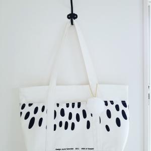 IKEAのテキスタイルで「たっぷりマチのトートバッグ」②