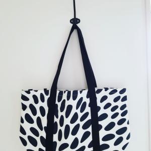 IKEAのテキスタイルで「たっぷりマチのトートバッグ」③