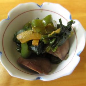 鶏レバーとピーマンの生姜煮~レバーが苦手な人でも食べやすい一皿!