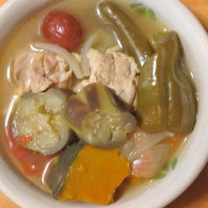 【料理】暑くて何も作りたくないときにおすすめの、夏野菜たっぷりのスープ
