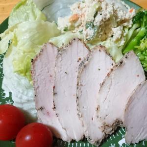 【鶏むね肉レシピ】サラダチキンは簡単、ヘルシー、おいしい!