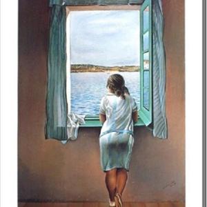 :砂古さんへ  見つけました! 「窓辺の少女」  しゅくこさんのお便りです。