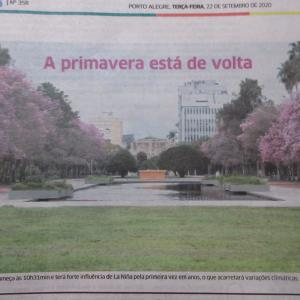 ≪花談義578≫ ブラジルの春を地元ポルトアレグレから送ります。(その2)
