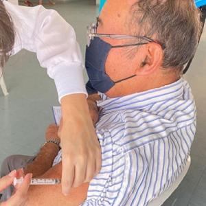 ≪三度目のワクチンを終えました≫ ピンダの吉田さんからのお便りです。