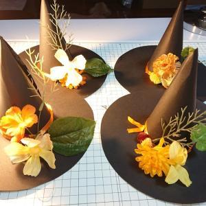ハロウィン帽子を作る