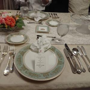 半年ぶりのディナー