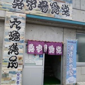 氷見の魚市場食堂で海鮮丼のやわやわ盛りを食べたのだ~