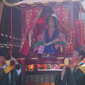 奈良井宿 「皇女和宮御下向行列」の思い出