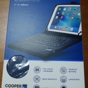 Cooperのキーボード ケースが Fire8HDタブレットに ジャストフィットでした