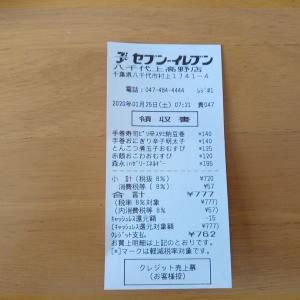 きたー♡ラッキーな数字!!