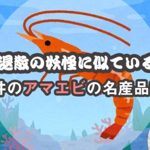 病魔退散の妖怪に似ている!福井のアマエビの名産品5選